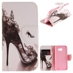 High Heels PU Leather Wallet Case for Samsung Galaxy A3 2017 A320
