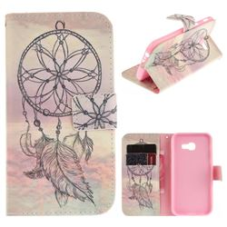 Dream Catcher PU Leather Wallet Case for Samsung Galaxy A3 2017 A320