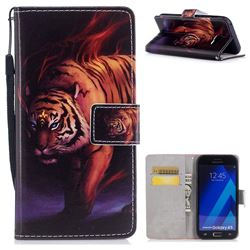 Mighty Tiger PU Leather Wallet Case for Samsung Galaxy A3 2017 A320