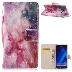 Cosmic Stars PU Leather Wallet Case for Samsung Galaxy A3 2017 A320