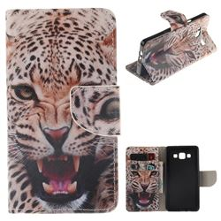 Puma PU Leather Wallet Case for Samsung Galaxy A5 2015 A500