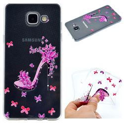 Petal High Heels Super Clear Soft TPU Back Cover for Samsung Galaxy A5 2016 A510