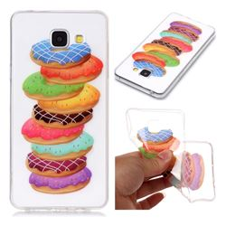 Melaleuca Donuts Super Clear Soft TPU Back Cover for Samsung Galaxy A5 2016 A510