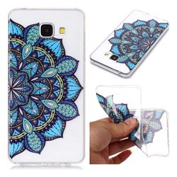Peacock flower Super Clear Soft TPU Back Cover for Samsung Galaxy A5 2016 A510