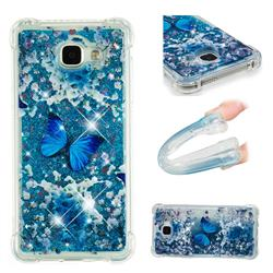 Flower Butterfly Dynamic Liquid Glitter Sand Quicksand Star TPU Case for Samsung Galaxy A5 2016 A510