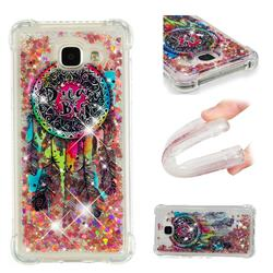 Seal Wind Chimes Dynamic Liquid Glitter Sand Quicksand Star TPU Case for Samsung Galaxy A5 2016 A510