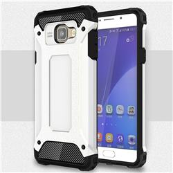 King Kong Armor Premium Shockproof Dual Layer Rugged Hard Cover for Samsung Galaxy A5 2016 A510 - White