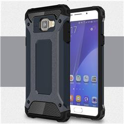 King Kong Armor Premium Shockproof Dual Layer Rugged Hard Cover for Samsung Galaxy A5 2016 A510 - Navy