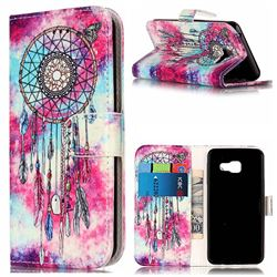 Butterfly Chimes PU Leather Wallet Case for Samsung Galaxy A5 2016 A510