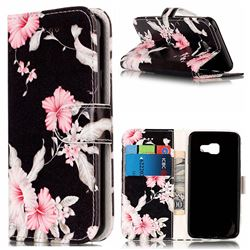 Azalea Flower PU Leather Wallet Case for Samsung Galaxy A5 2016 A510