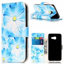 Orchid Flower PU Leather Wallet Case for Samsung Galaxy A5 2016 A510