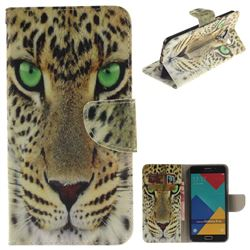 Yellow Tiger PU Leather Wallet Case for Samsung Galaxy A5 2016 A510