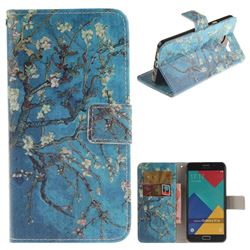 Apricot Tree PU Leather Wallet Case for Samsung Galaxy A5 2016 A510