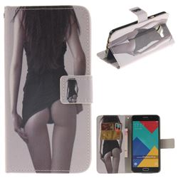 Sexy Girls PU Leather Wallet Case for Samsung Galaxy A5 2016 A510