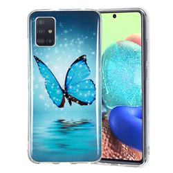 Butterfly Noctilucent Soft TPU Back Cover for Samsung Galaxy A51 5G