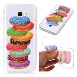 Melaleuca Donuts Super Clear Soft TPU Back Cover for Samsung Galaxy A5 2017 A520
