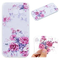 Peony Super Clear Soft TPU Back Cover for Samsung Galaxy A5 2017 A520