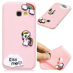 Kiss me Pony Soft 3D Silicone Case for Samsung Galaxy A5 2017 A520