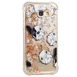 Bulldog Dynamic Liquid Glitter Sand Quicksand Star TPU Case for Samsung Galaxy A5 2017 A520