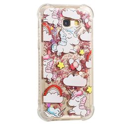 Angel Pony Dynamic Liquid Glitter Sand Quicksand Star TPU Case for Samsung Galaxy A5 2017 A520