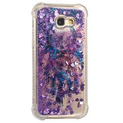 Retro Wind Chimes Dynamic Liquid Glitter Sand Quicksand Star TPU Case for Samsung Galaxy A5 2017 A520