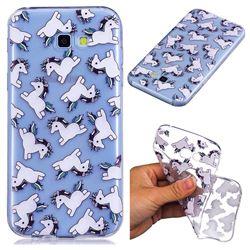 Pony Unicorn Super Clear Soft TPU Back Cover for Samsung Galaxy A5 2017 A520