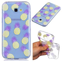 Carton Pineapple Super Clear Soft TPU Back Cover for Samsung Galaxy A5 2017 A520