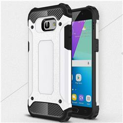 King Kong Armor Premium Shockproof Dual Layer Rugged Hard Cover for Samsung Galaxy A5 2017 A520 - White