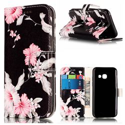 Azalea Flower PU Leather Wallet Case for Samsung Galaxy A5 2017 A520