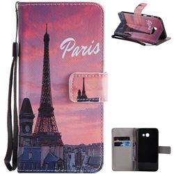Paris Eiffel Tower PU Leather Wallet Case for Samsung Galaxy A5 2017 A520