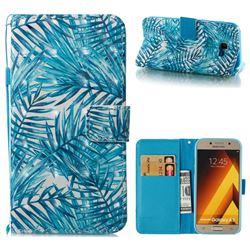 Banana Leaves 3D Painted Leather Wallet Case for Samsung Galaxy A5 2017 A520