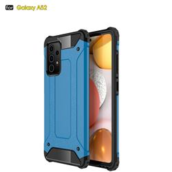 King Kong Armor Premium Shockproof Dual Layer Rugged Hard Cover for Samsung Galaxy A52 5G - Sky Blue