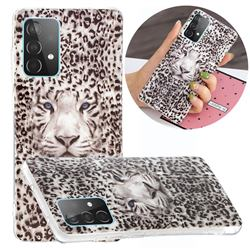Leopard Tiger Noctilucent Soft TPU Back Cover for Samsung Galaxy A52 5G
