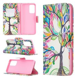 The Tree of Life Leather Wallet Case for Samsung Galaxy A52 (4G, 5G)