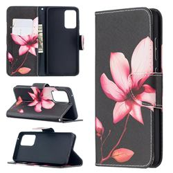 Lotus Flower Leather Wallet Case for Samsung Galaxy A52 (4G, 5G)