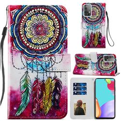 Dreamcatcher Smooth Leather Phone Wallet Case for Samsung Galaxy A52 (4G, 5G)