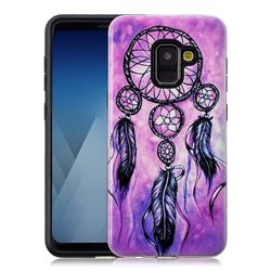 Starry Wind Chimes Pattern 2 in 1 PC + TPU Glossy Embossed Back Cover for Samsung Galaxy A8 2018 A530