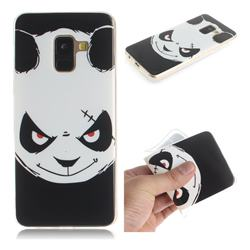 Angry Bear IMD Soft TPU Cell Phone Back Cover for Samsung Galaxy A8 2018 A530