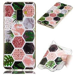 Rainforest Soft TPU Marble Pattern Phone Case for Samsung Galaxy A8 2018 A530