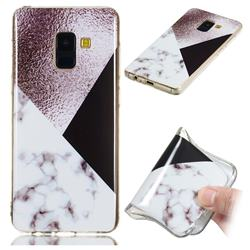 Black white Grey Soft TPU Marble Pattern Phone Case for Samsung Galaxy A8 2018 A530
