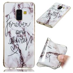Forever Soft TPU Marble Pattern Phone Case for Samsung Galaxy A8 2018 A530