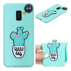 Cactus Flower Soft 3D Silicone Case for Samsung Galaxy A8 2018 A530