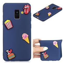 I Love Hamburger Soft 3D Silicone Case for Samsung Galaxy A8 2018 A530