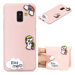 Kiss me Pony Soft 3D Silicone Case for Samsung Galaxy A8 2018 A530