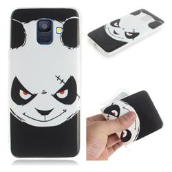 Angry Bear IMD Soft TPU Cell Phone Back Cover for Samsung Galaxy A6 (2018)