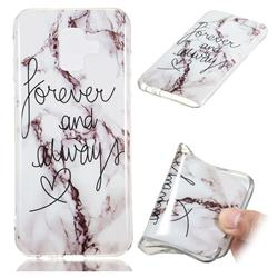 Forever Soft TPU Marble Pattern Phone Case for Samsung Galaxy A6 (2018)