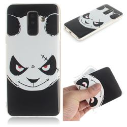 Angry Bear IMD Soft TPU Cell Phone Back Cover for Samsung Galaxy A6 Plus (2018)