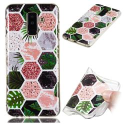 Rainforest Soft TPU Marble Pattern Phone Case for Samsung Galaxy A6 Plus (2018)