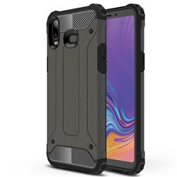 King Kong Armor Premium Shockproof Dual Layer Rugged Hard Cover for Samsung Galaxy A6s - Bronze
