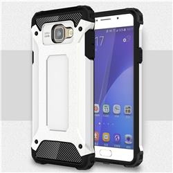 King Kong Armor Premium Shockproof Dual Layer Rugged Hard Cover for Samsung Galaxy A7 2016 A710 - White